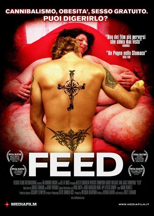 La locandina italiana di Feed