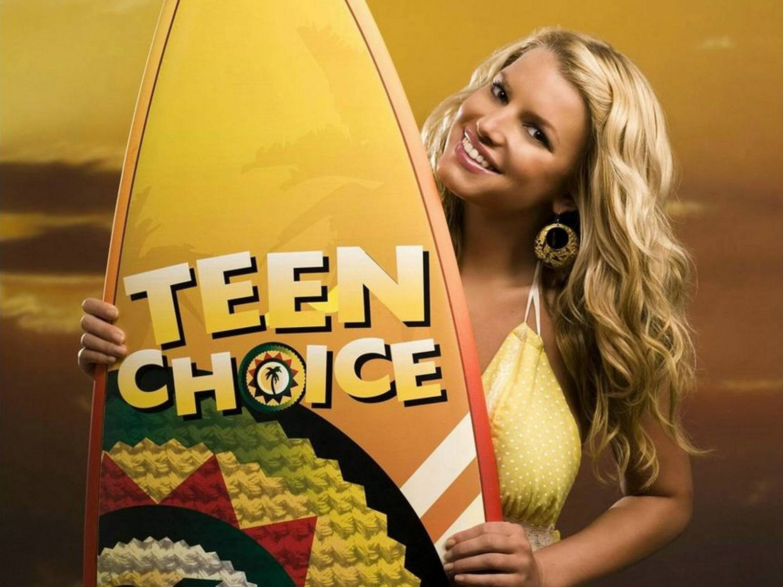 Wallpaper di Jessica Simpson per il Teen Choice