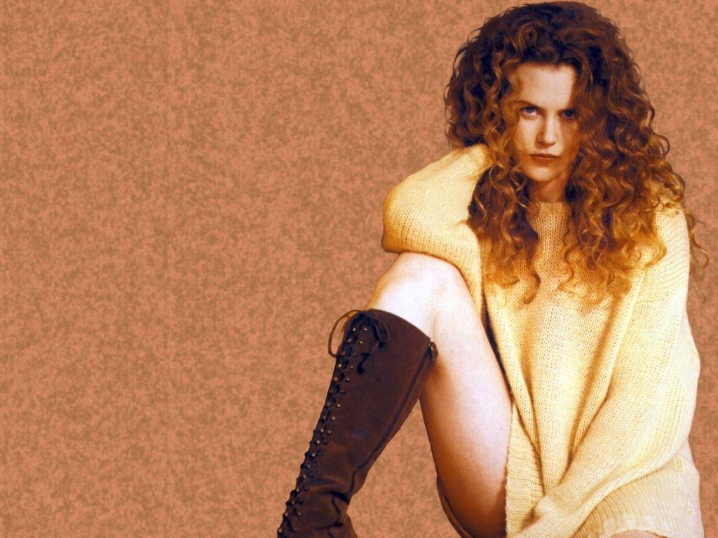 Wallpaper di Nicole Kidman su fondo scuro