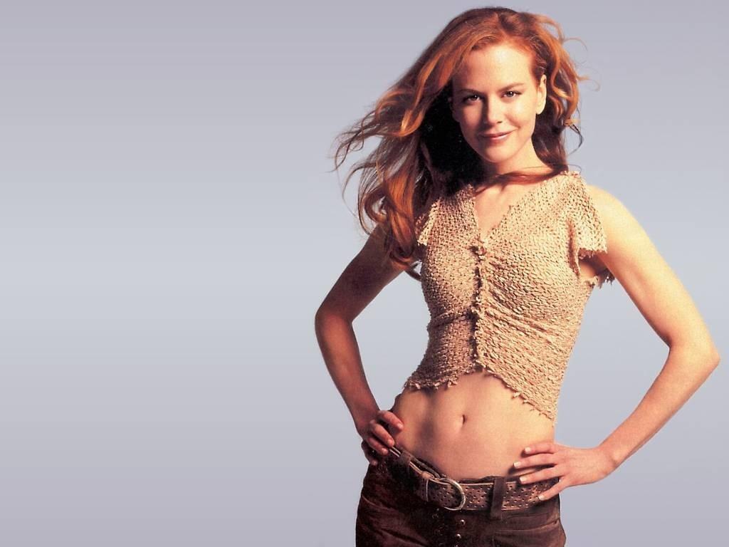 Wallpaper di Nicole Kidman con l'ombelico scoperto