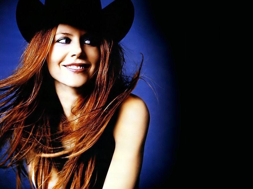 Wallpaper di Nicole Kidman in versione cowgirl
