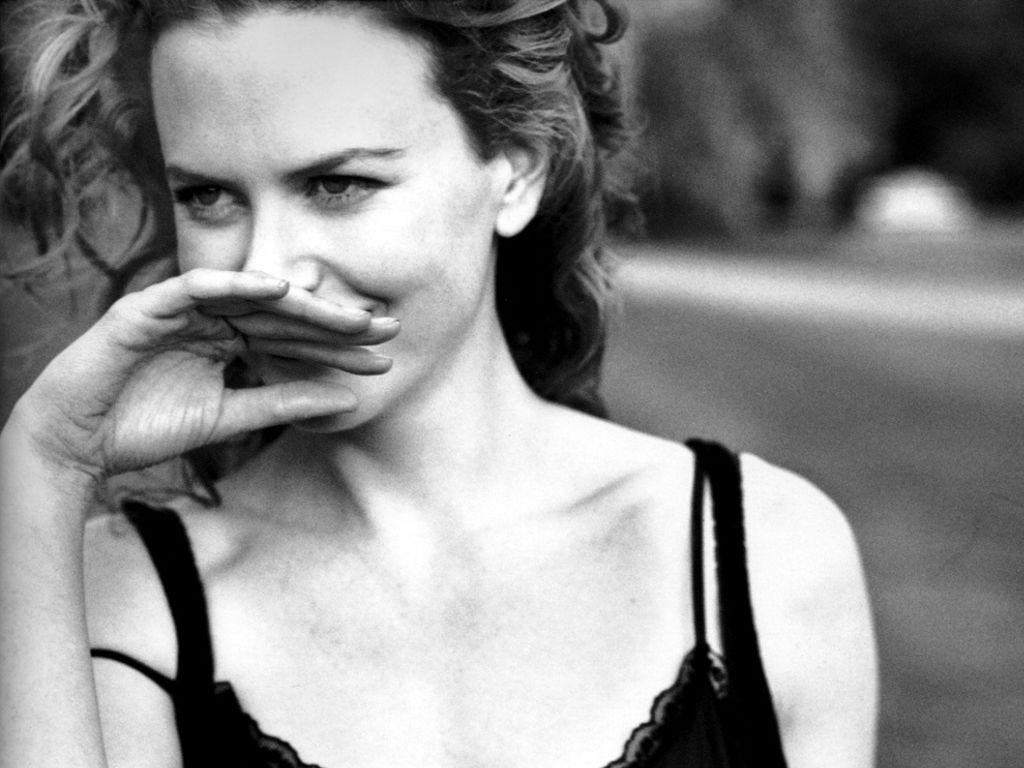 Wallpaper di Nicole Kidman in un bel servizio fotografico