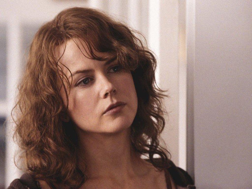 Wallpaper di Nicole Kidman con i capelli castani