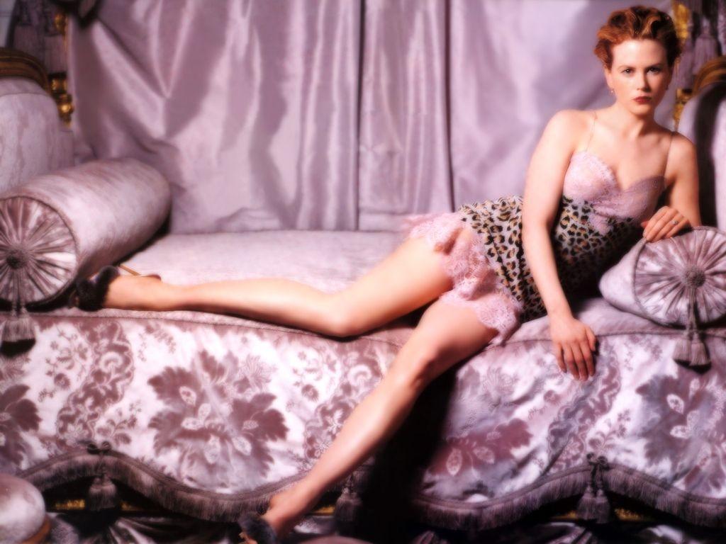 Wallpaper - a letto con Nicole Kidman