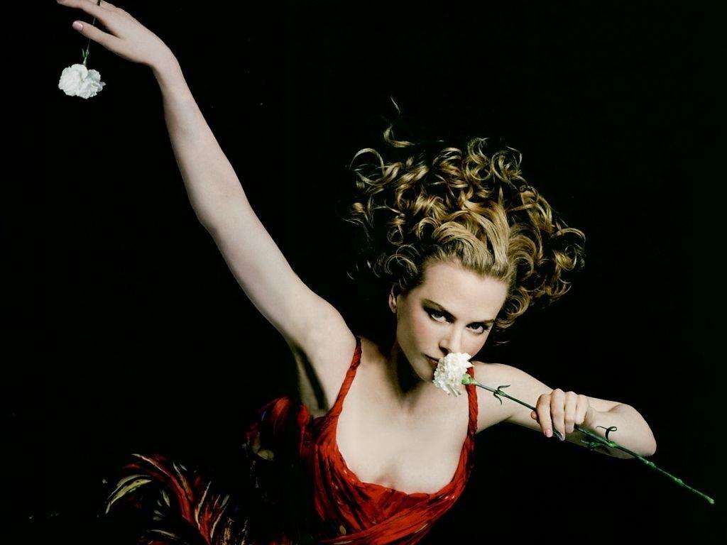 Wallpaper di Nicole Kidman, luminosa e acclamata star australiana