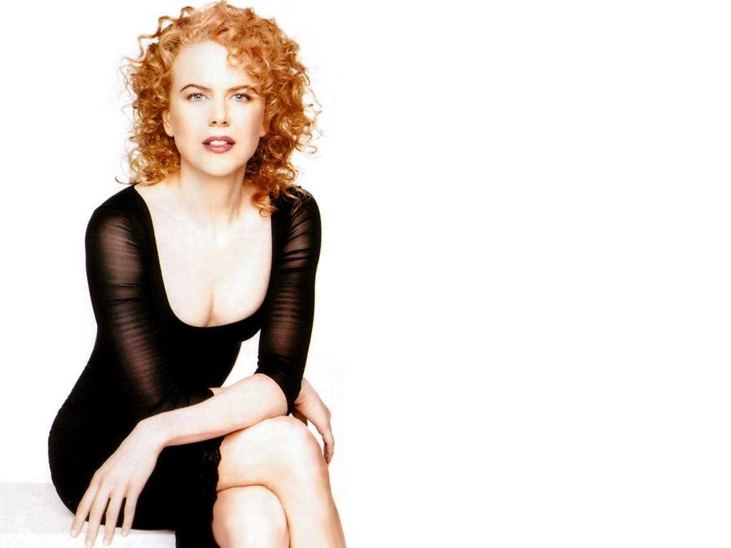 Wallpaper - Nicole Kidman su fondo bianco