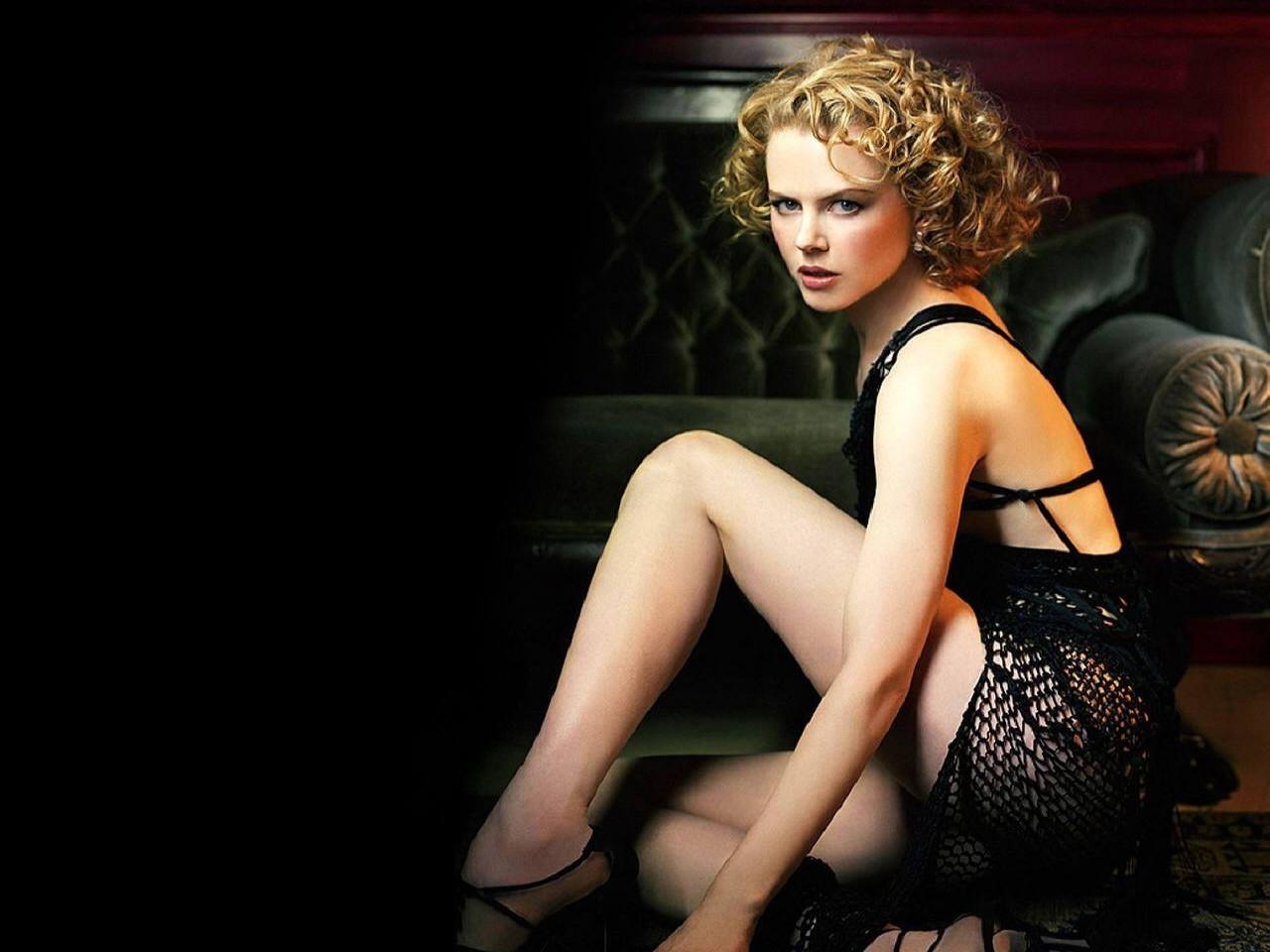 Wallpaper di Nicole Kidman, sensuale e raffinata al tempo stesso