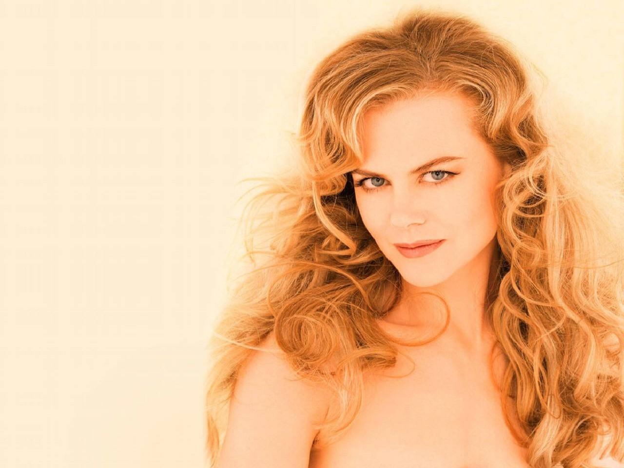 Wallpaper di una luminosa e splendida Nicole Kidman
