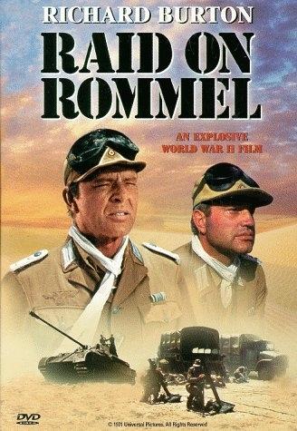 La locandina di Attacco a Rommel