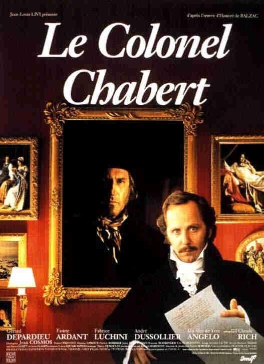 La locandina di Il colonnello Chabert