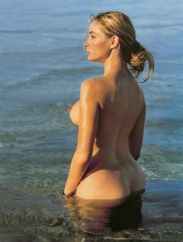 Emmanuelle Béart, sexy sirena del cinema francese