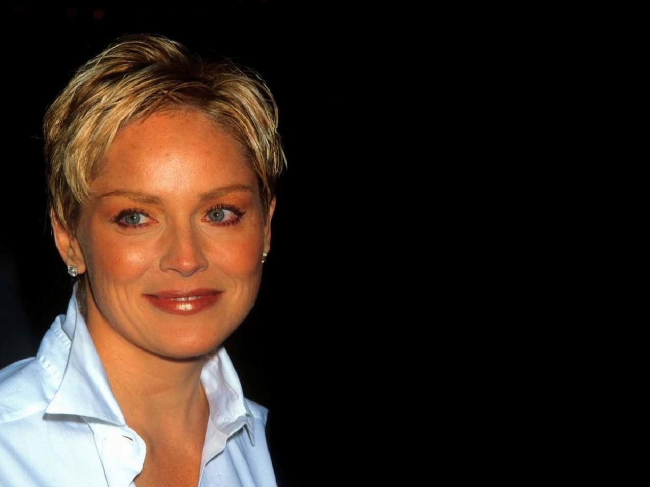 Wallpaper dell'attrice americana Sharon Stone