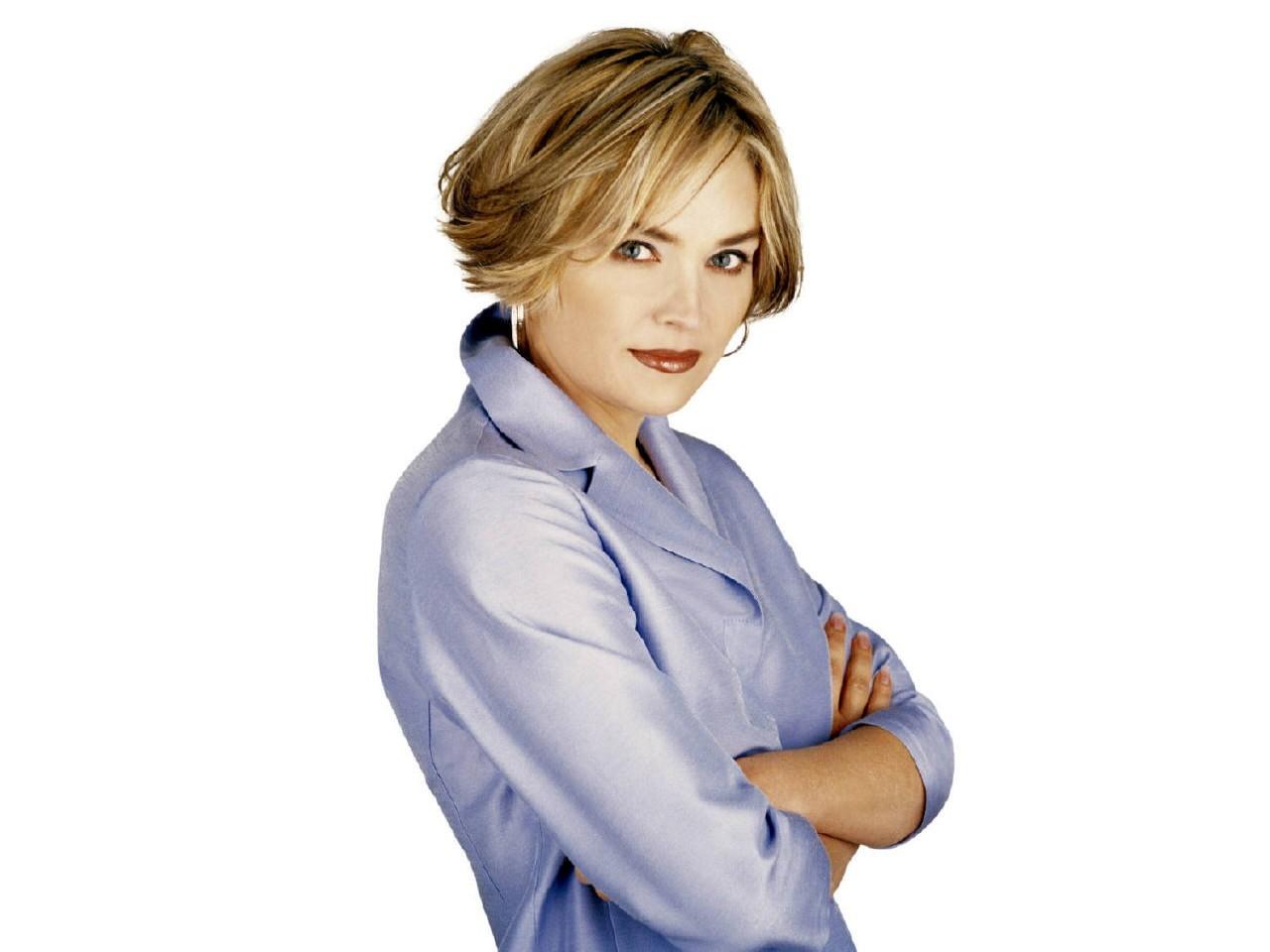 Wallpaper dell'attrice Sharon Stone