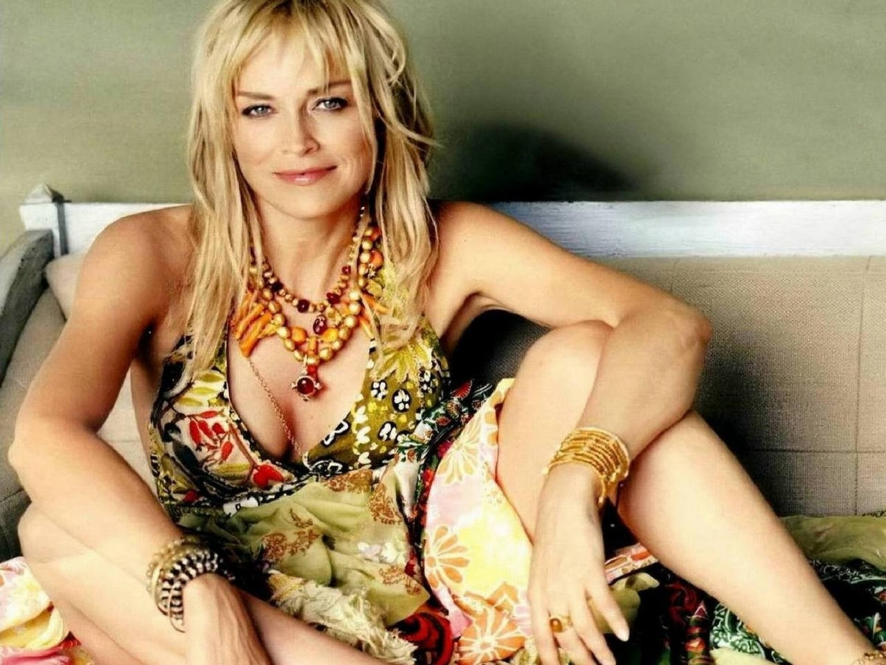 Wallpaper con Sharon Stone