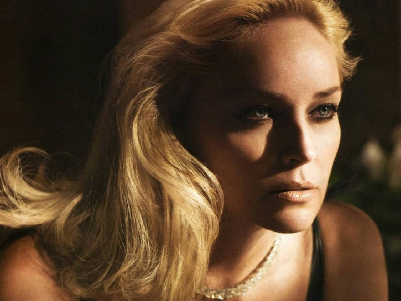 Wallpaper: una seducente immagine di Sharon Stone
