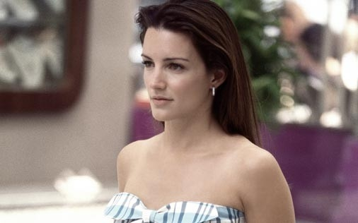 Kristin Davis in una scena di Sex and the City, episodio A cosa servono le amiche?