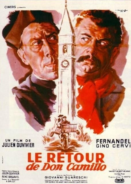 La locandina di Il ritorno di Don Camillo