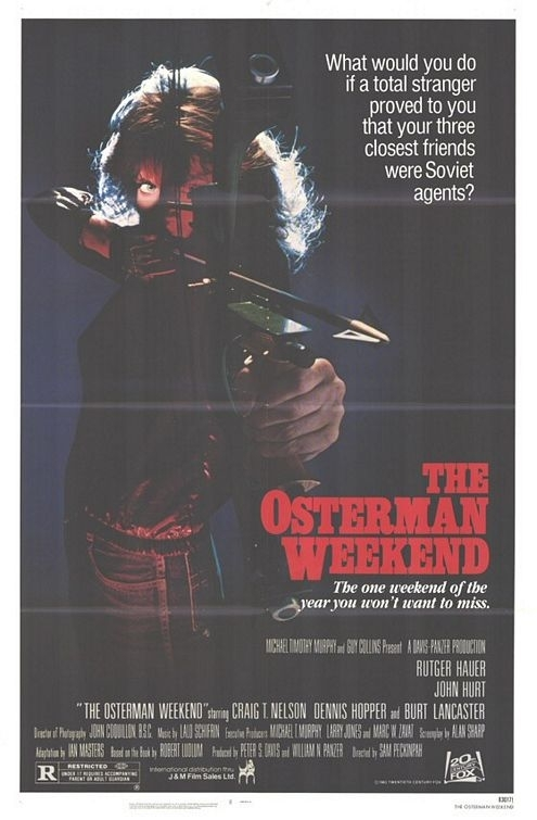 La locandina di Osterman Weekend