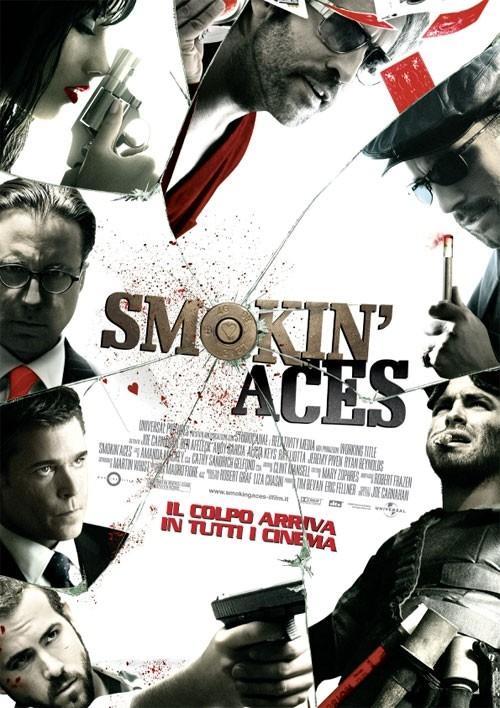La locandina italiana di Smokin' Aces