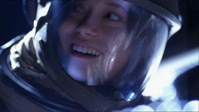 Summer Glau in una scena di Firefly - episodio Il sopravvissuto