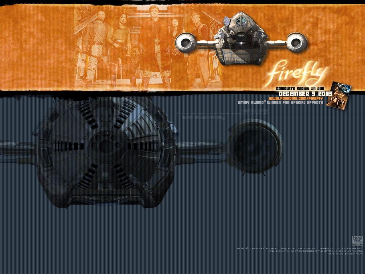Un wallpaper della serie Firefly
