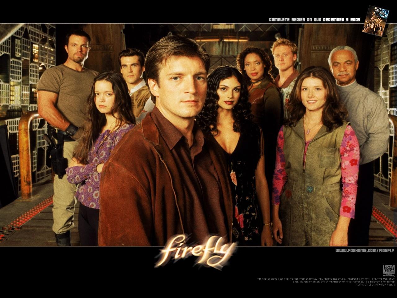 Wallpaper della serie televisiva Firefly