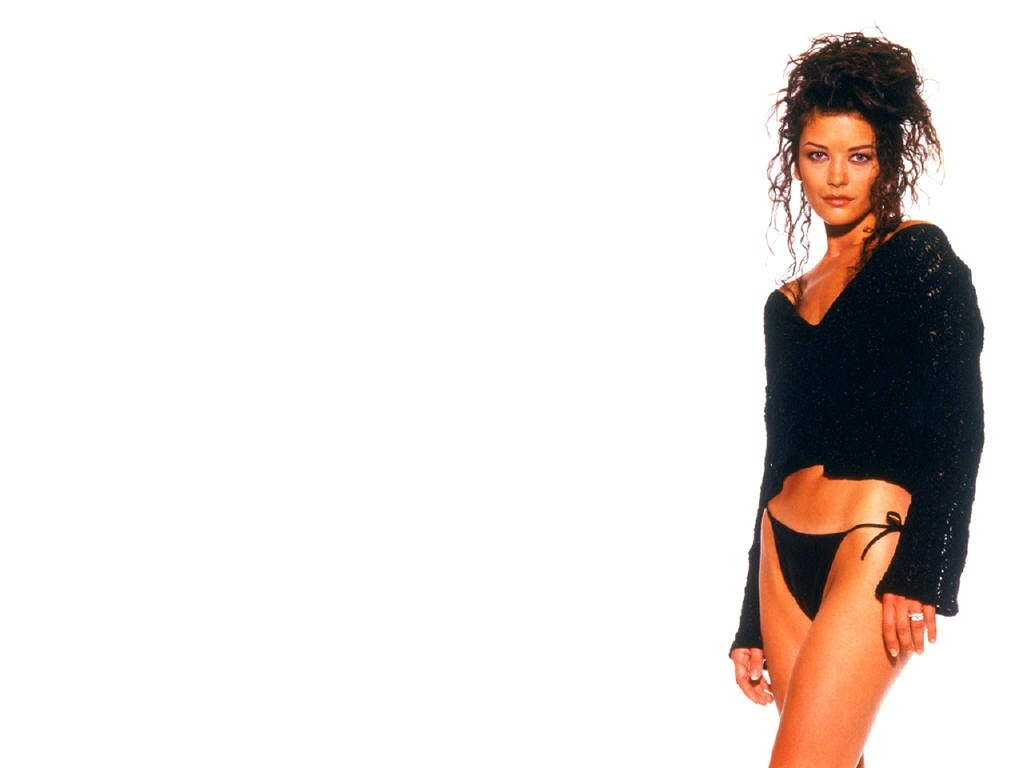 Wallpaper di Catherine Zeta-Jones in lingerie