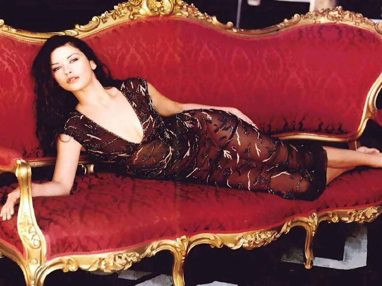 Wallpaper di Catherine Zeta-Jones, splendida regina del cinema USA