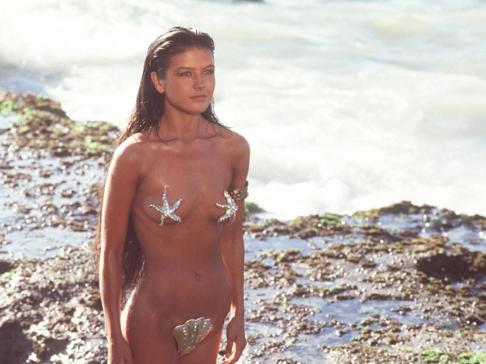 Wallpaper di Catherine Zeta-Jones in versione sirena