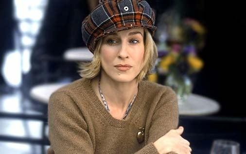 Sarah Jessica Parker in una scena di Sex and the City, episodio Peccato non originale