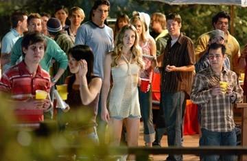 Sarah Roemer in una scena del film Disturbia