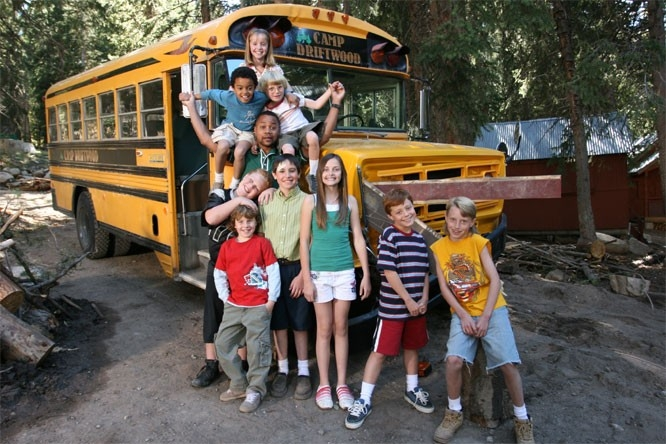 UN'immagine del film Daddy Day Camp