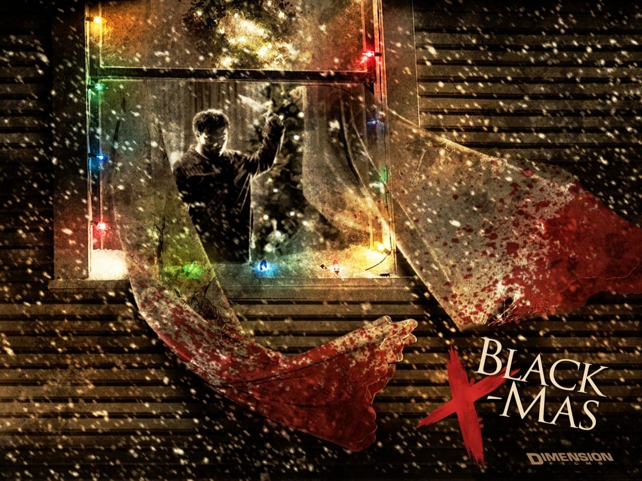 Uno scintillante wallpaper del film Black Christmas - Un Natale rosso sangue