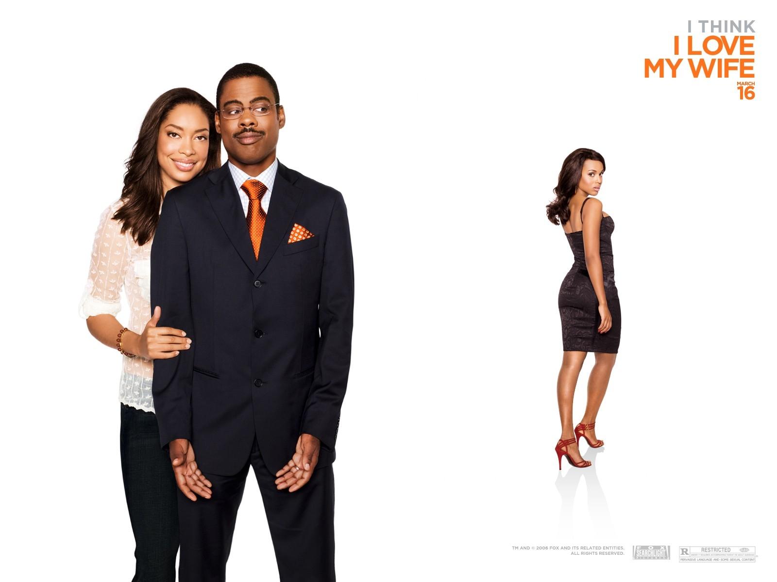 Wallpaper del film Manuale d'infedeltà per uomini sposati con Chris Rock