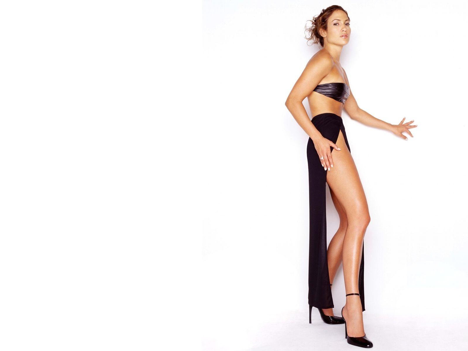Wallpaper di Jennifer Lopez in abito sexy