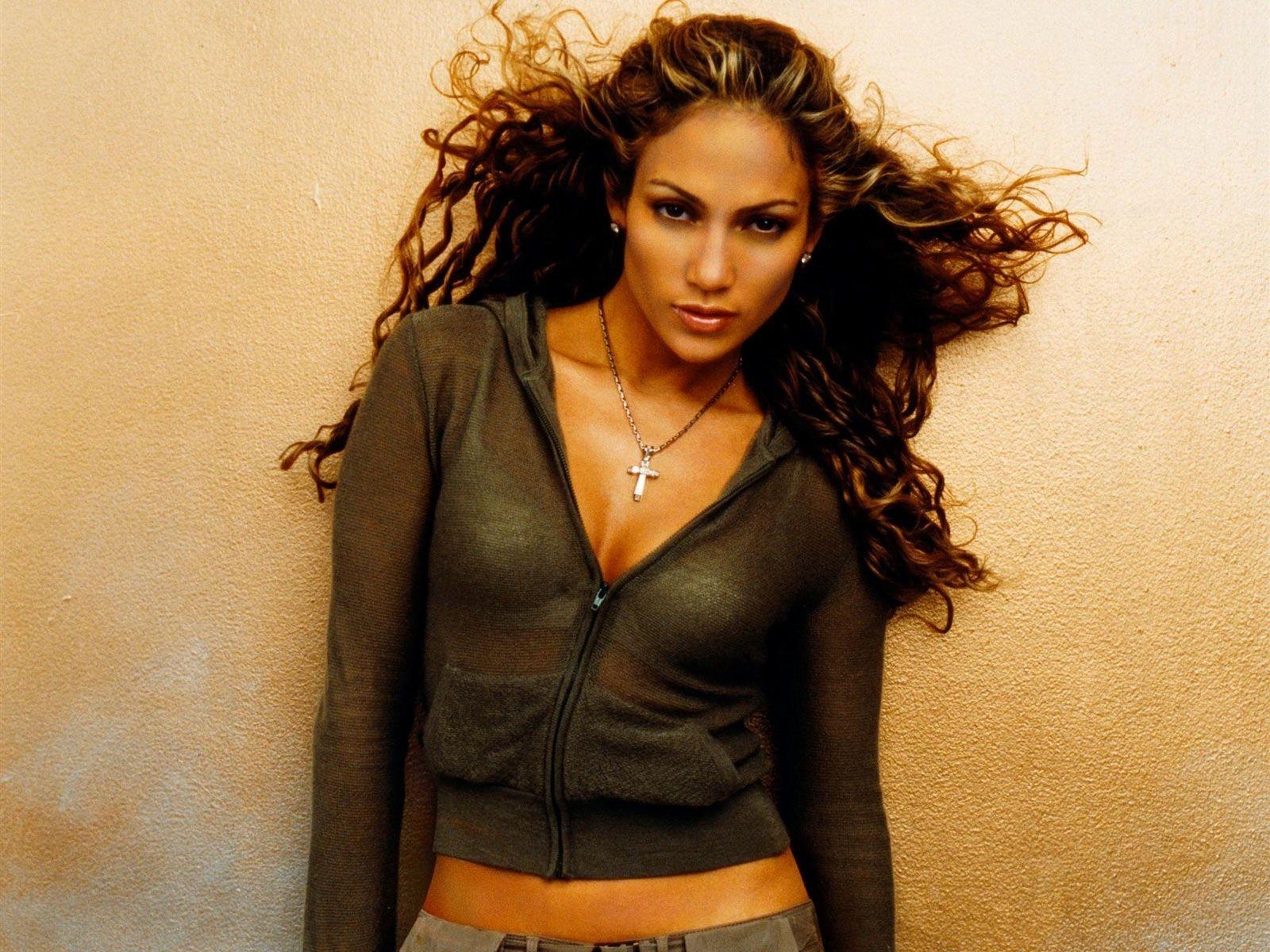 Wallpaper della popstar e attrice Jennifer Lopez