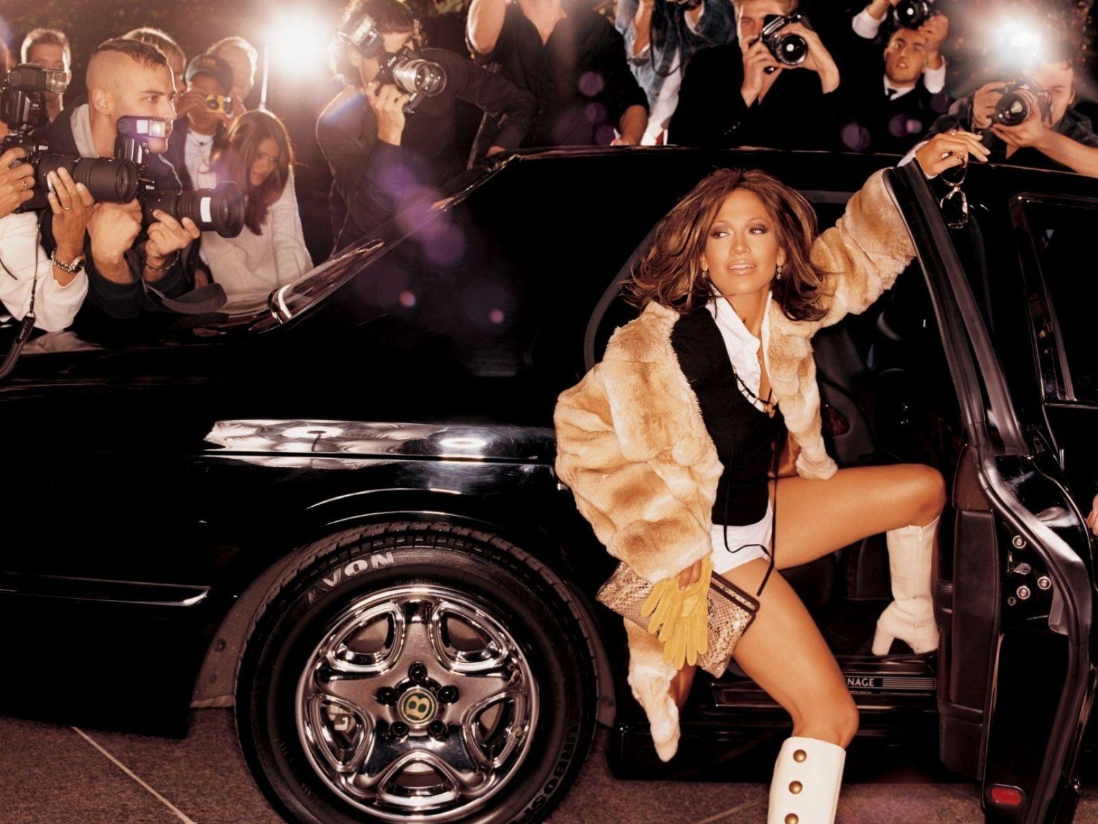 Wallpaper di Jennifer Lopez come appare sulla cover del suo album