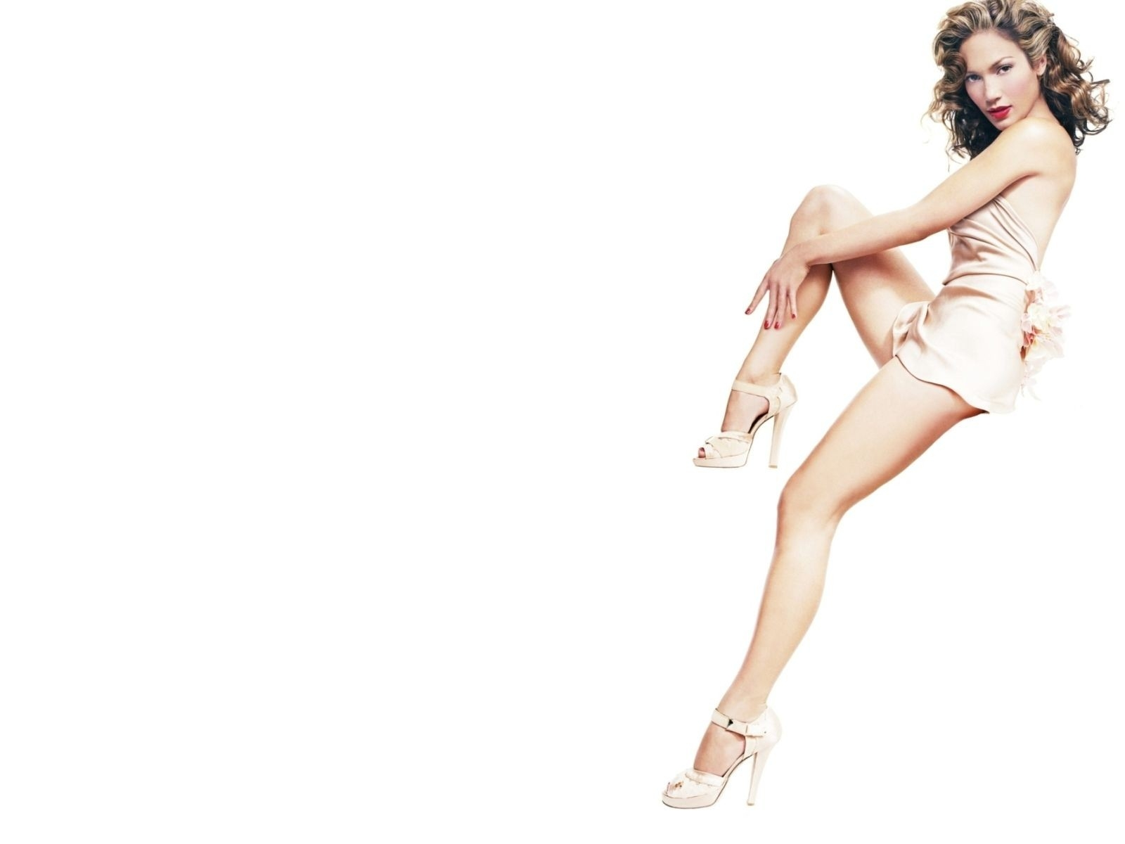 Wallpaper di Jennifer Lopez in versione pin up