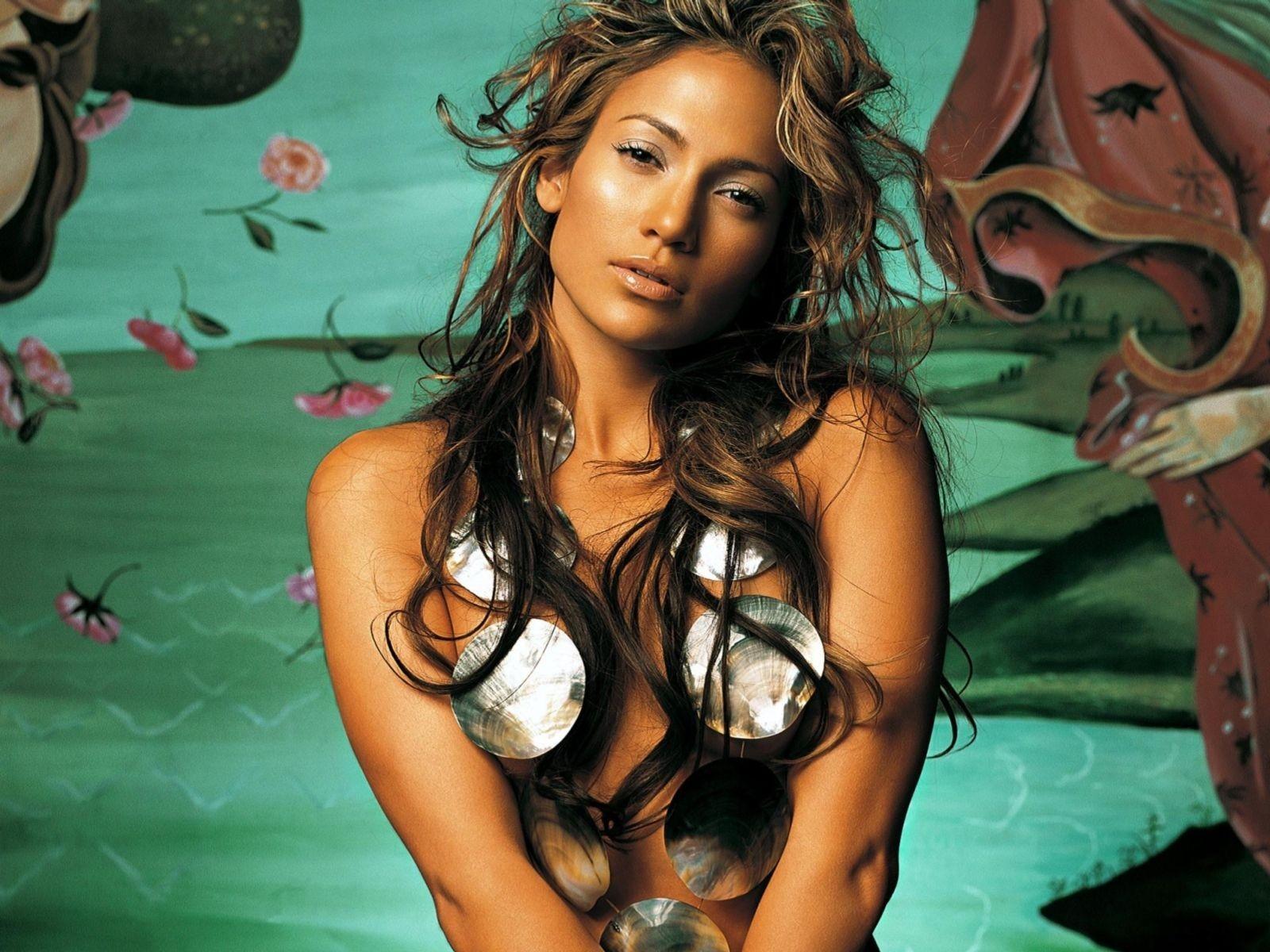 Wallpaper della cantante Jennifer Lopez