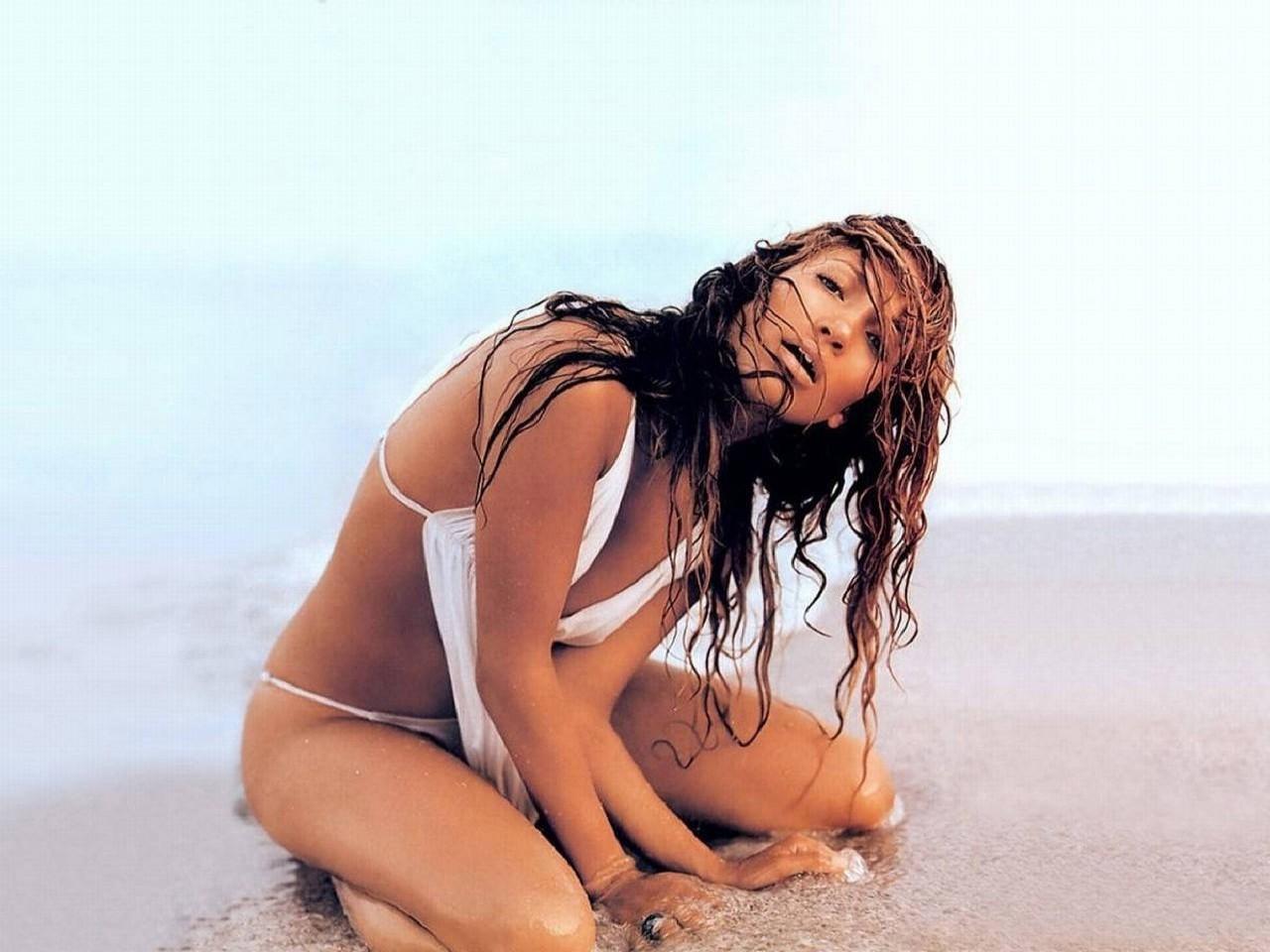 Wallpaper di Jennifer Lopez in versione sirena sexy