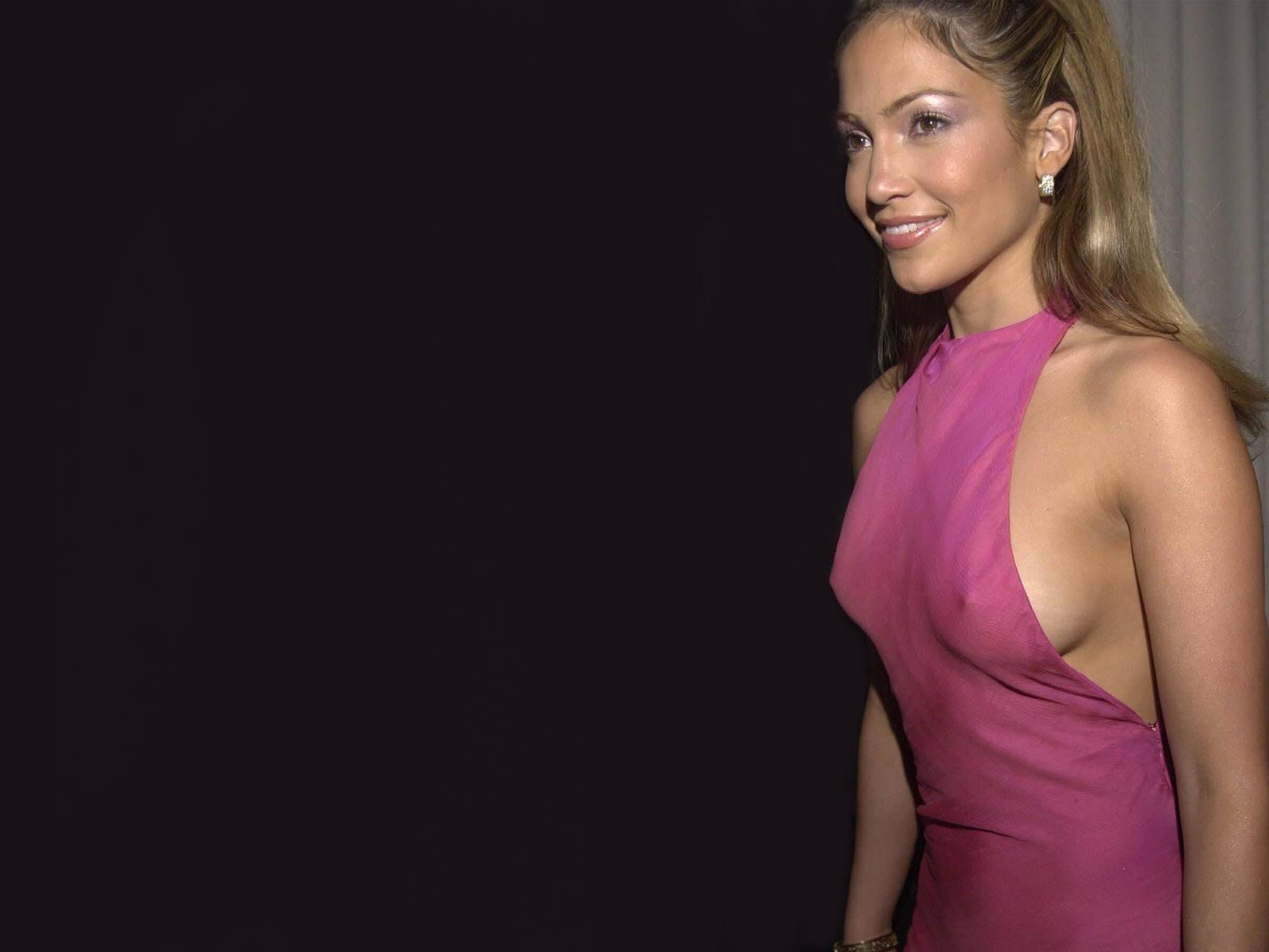 Wallpaper di Jennifer Lopez in abito fucsia