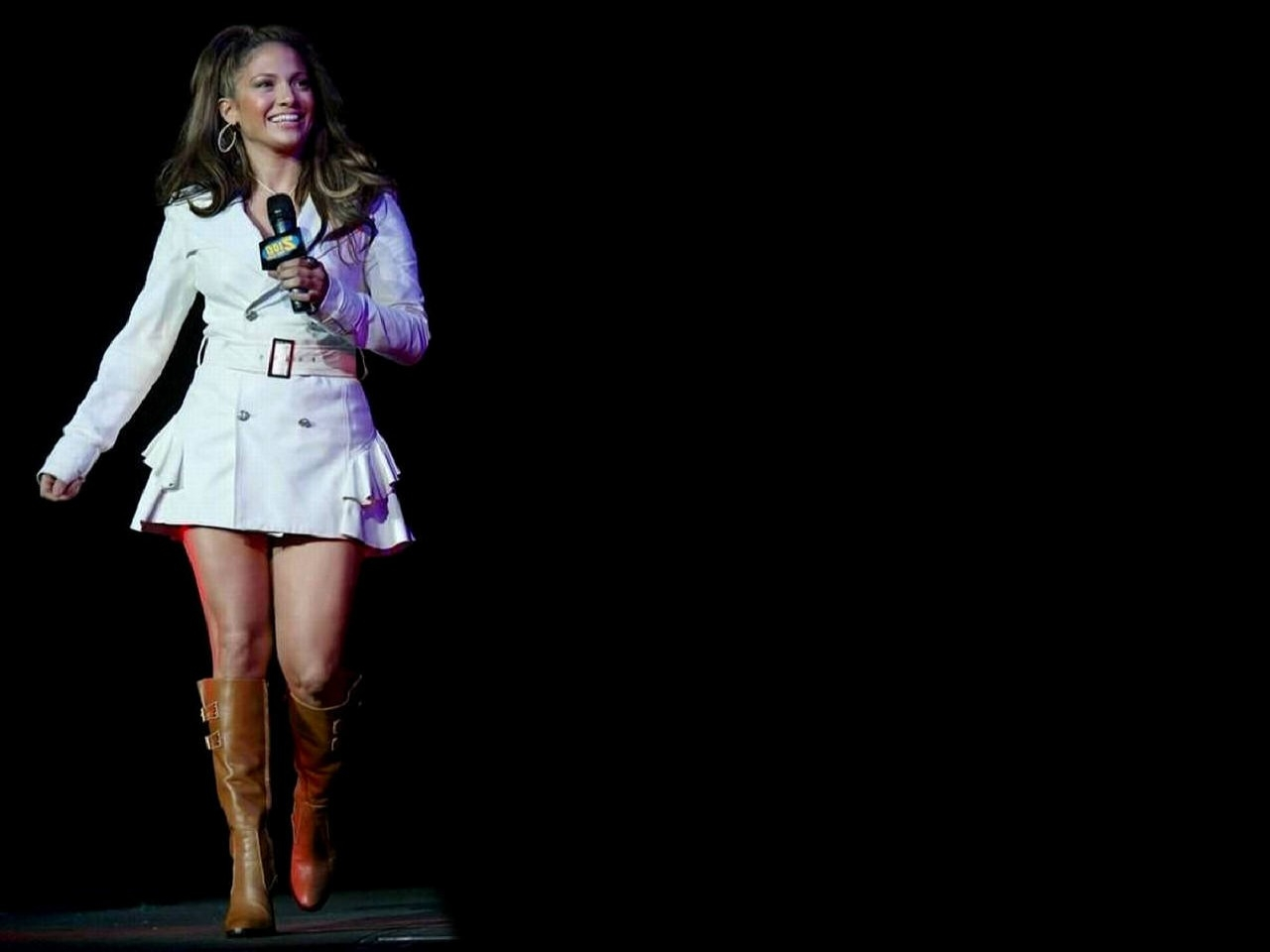 Wallpaper di Jennifer Lopez dal vivo
