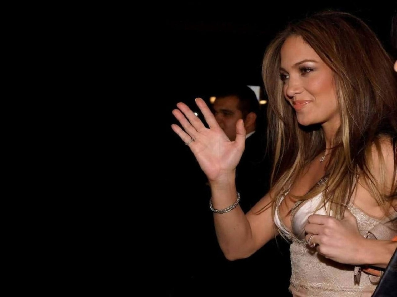 Wallpaper di Jennifer Lopez a un evento mondano