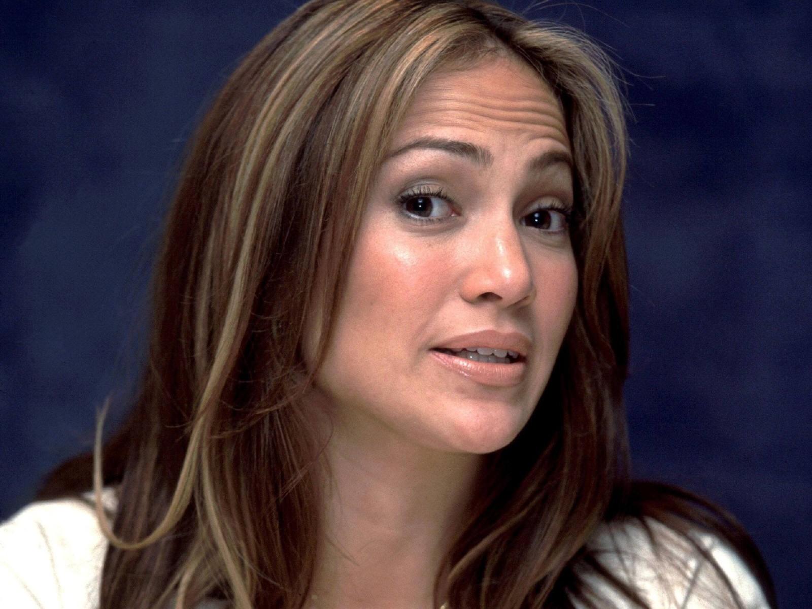 Wallpaper dell'attrice e cantante latina Jennifer Lopez