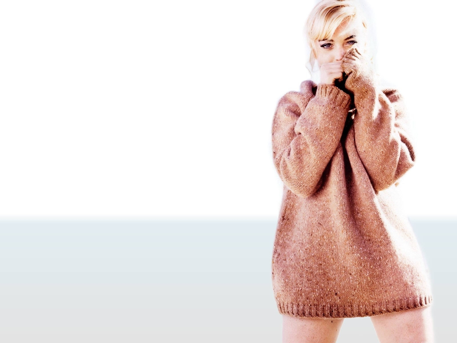 Wallpaper di Lindsay Lohan come Marilyn in 'Let's Make Love'