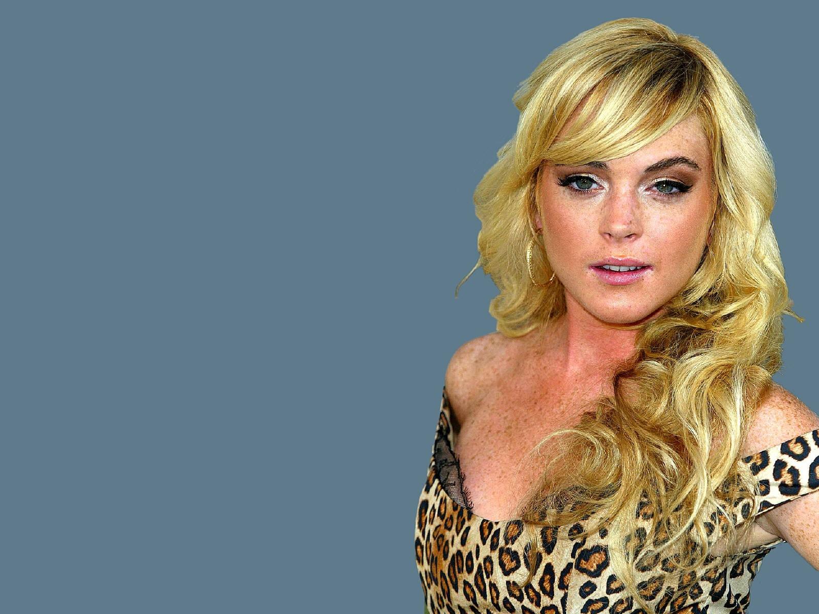 Wallpaper di Lindsay Lohan in versione bionda