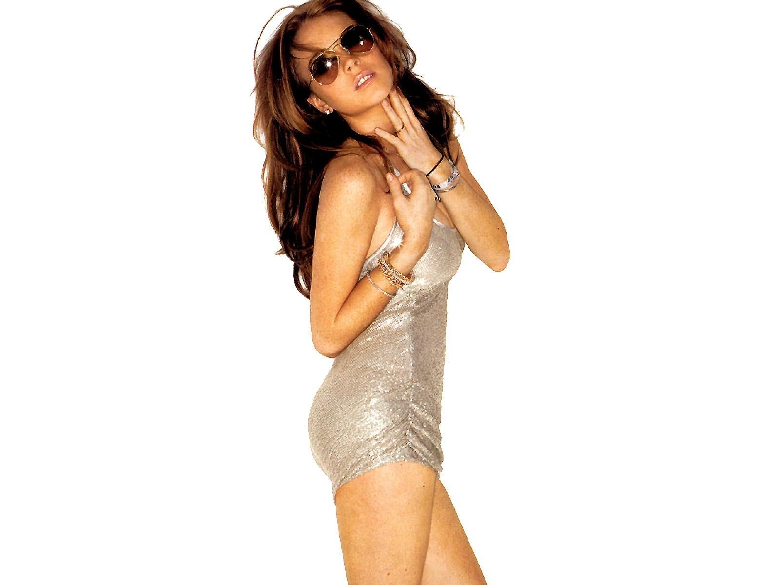 Wallpaper di Lindsay Lohan, icona sexy del gossip americano