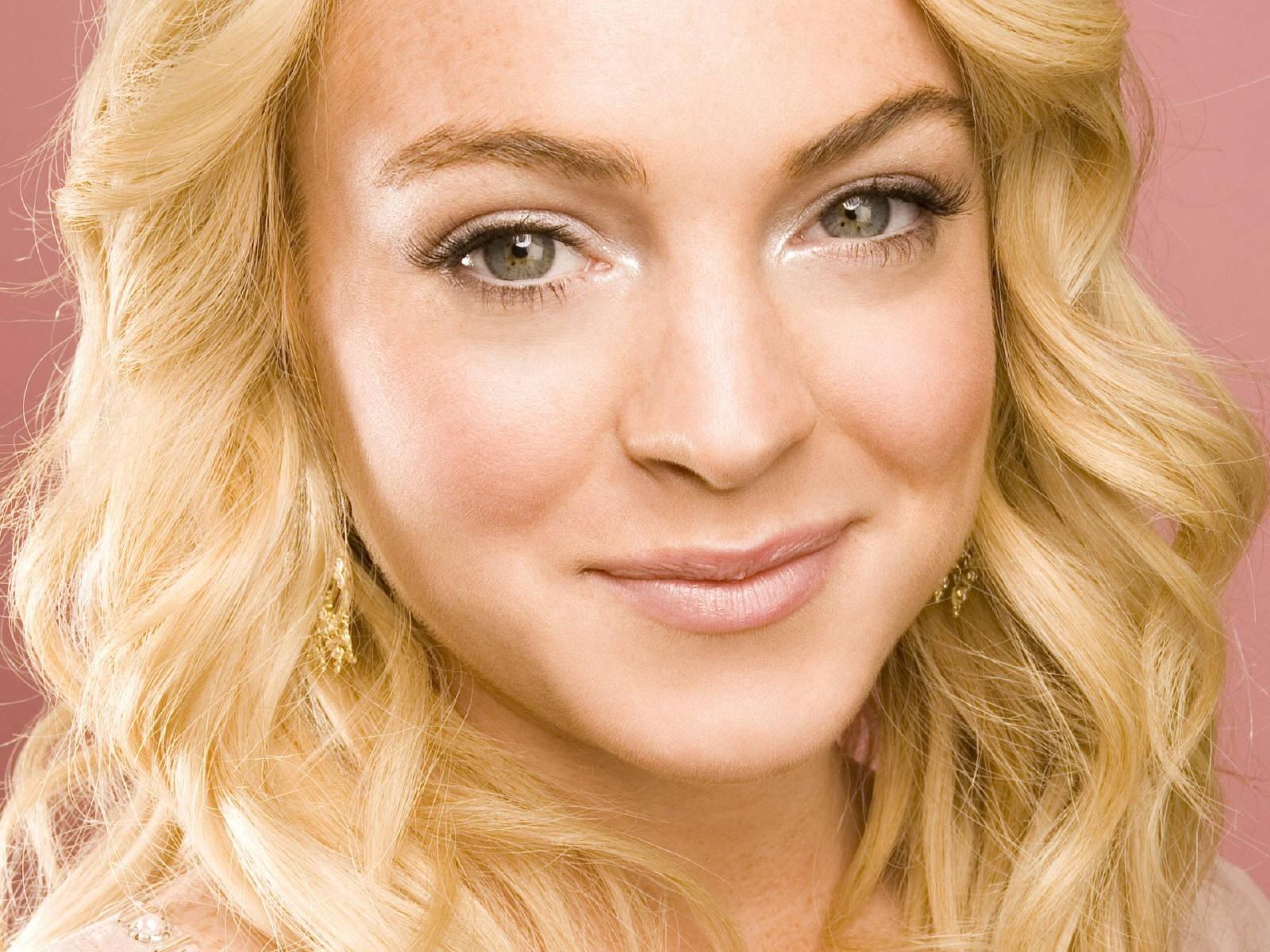 Wallpaper dell'attrice Lindsay Lohan