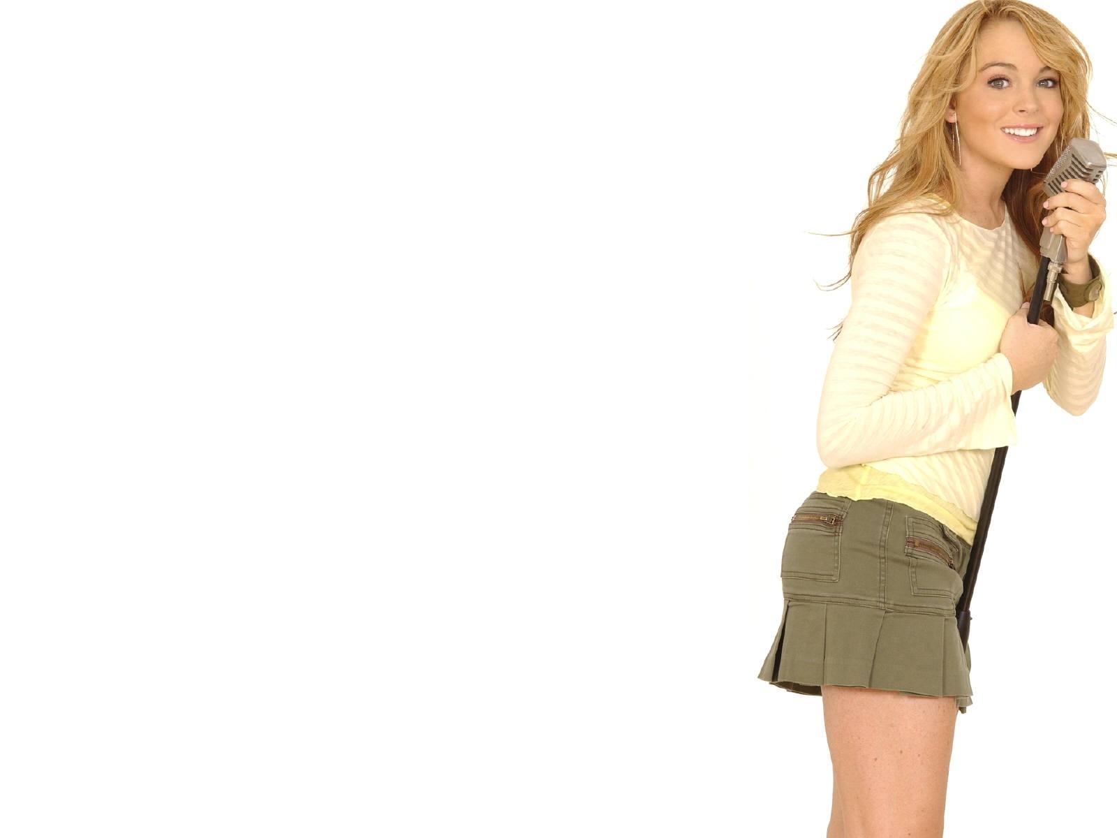 Wallpaper della star Lindsay Lohan