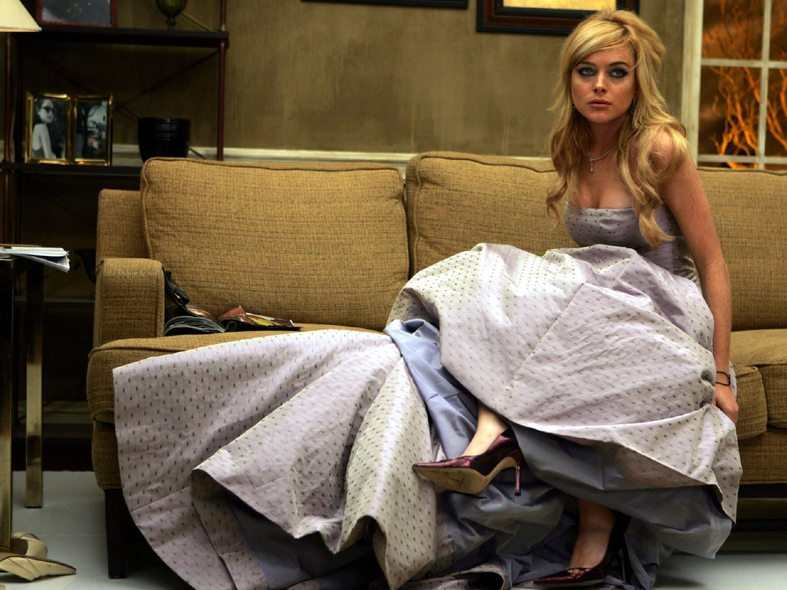 Wallpaper di Lindsay Lohan, superglamour in uno dei suoi tanti servizi fotografici